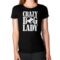 Crazy dog lady Women's T-Shirt