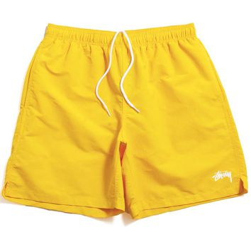 Stock SU19 Water Shorts Yellow