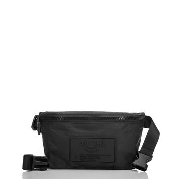 ALOHA Collection -  Black Mini Hip Pack | Black