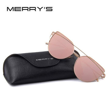 Brand  Designer Classic Fashion Twin-Beams Flat Panel Lens