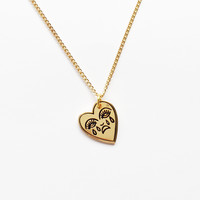 Crying Heart Necklace