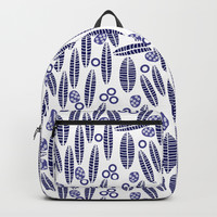 Leaves and Seeds 2 #society6 #buyart #decor Backpack by mirimo