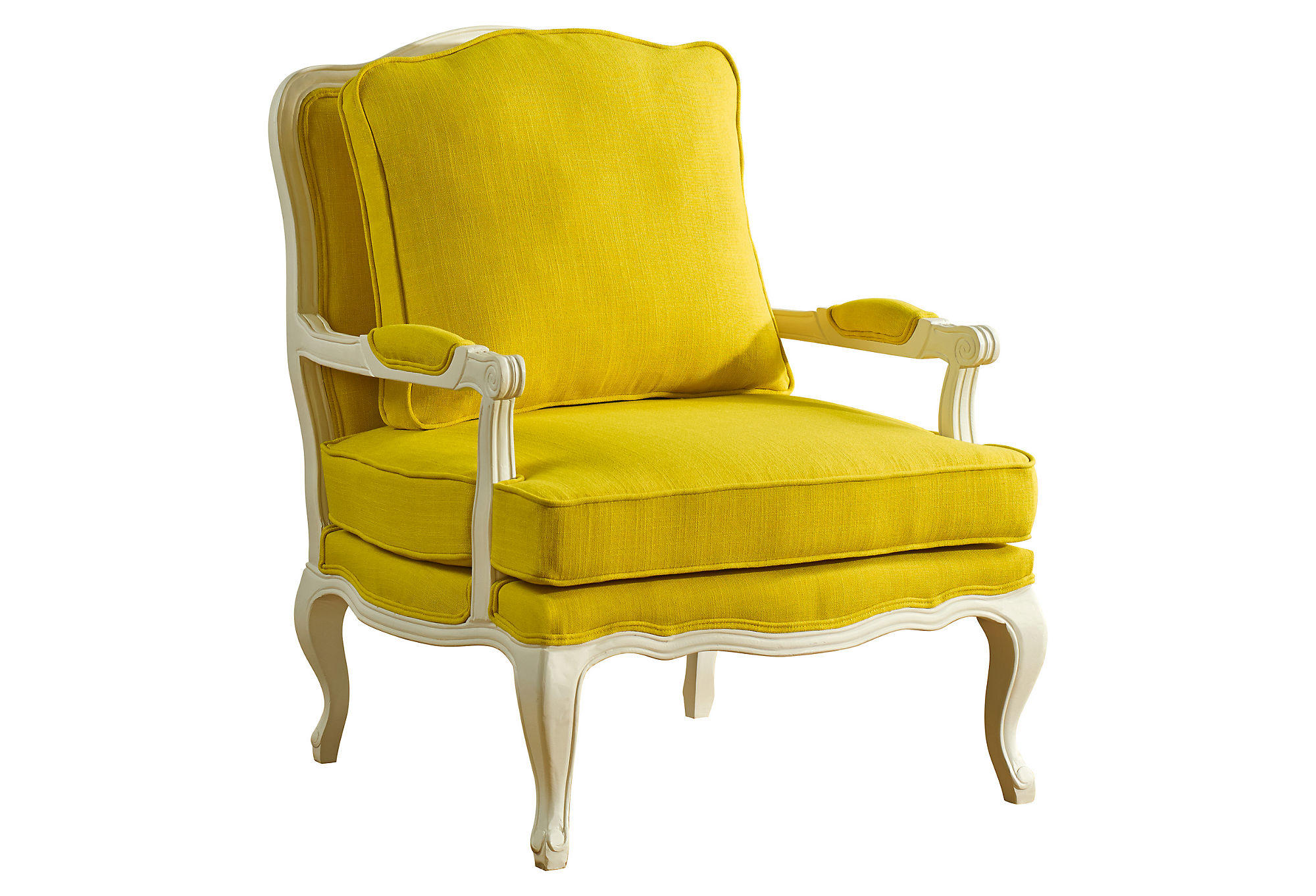 Agatha Accent Chair Yellow Accent From One Kings Lane