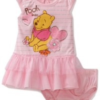 Disney Baby-Girls Infant Winnie Dress and Panty Set