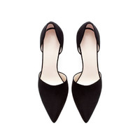 POINTED HIGH HEEL VAMP SHOE WITH HEEL BACK - Jeans - Woman | ZARA United States