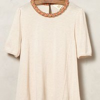 Confetti Collar Pullover by Monogram Cream