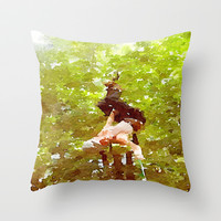 Adventure Throw Pillow by Elyse Notarianni