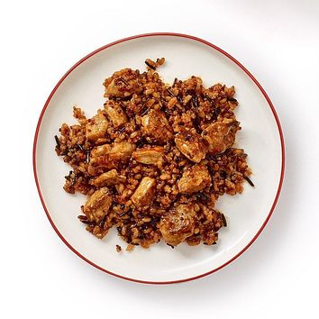Tyson Tastemakers One Pan Dish, Korean BBQ Chicken with Seven Grain Blend and Tangy Bulgogi Sauce, Serves 2