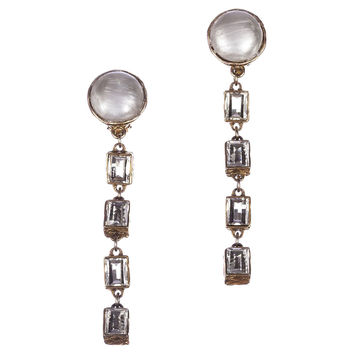 Chanel Runway Drop Faux-Pearl Earrings