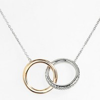 Women's Roberto Coin 'Tiny Treasures' Diamond Pendant Necklace