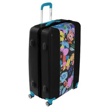 Mexico City Floral Spinner Suitcase