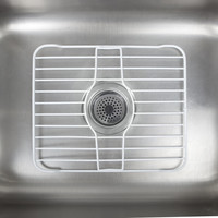 Kennedy Kitchen Sink Insert Rock, Sink Rust Resisted Protector Grid, White, 13 Long