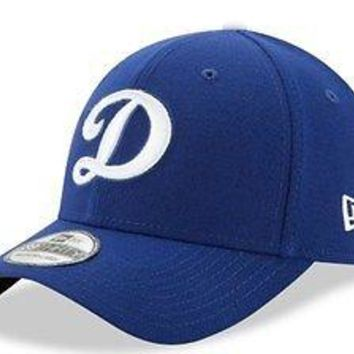 Los Angeles Dodgers LA New Era 39THIRTY Team Classic Stretch Fit Flex Cap Hat D