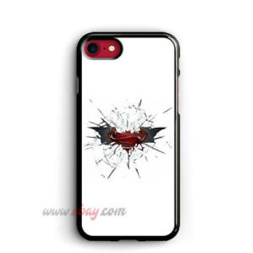 Batman iphone 8 plus cases Superman samsung case Cracked Glass iphone X cases
