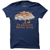 Toomer's Oak Tree Tee in Navy by One 10 Threads - FINAL SALE