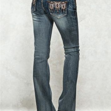 Grace in LA Flare Trickle Jeans