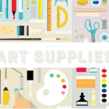 A Complete Kit of Art Supplies
