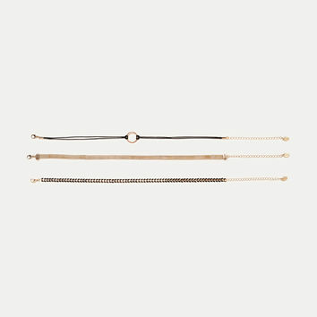 3-PACK OF CHAIN CHOKERS DETAILS