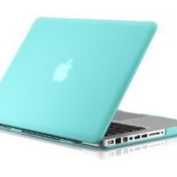 "Amazon.com: Osaka ® FROST series Turquoise (special blue) Rubberized Case / Cover for 13"" A1278 Aluminum Unibody MacBook Pro (Black keys, 13.3-inch diagonal screen): Computers & Accessories"