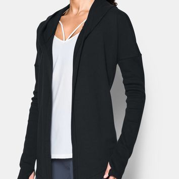Women's UA Modern Terry Open Front Cardigan | Under Armour US