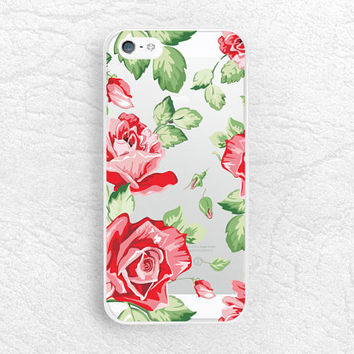 Rose flower matte transparent phone case for iPhone 5 5s, iPhone 6, Nexus 6, Sony z3, HTC one m8, LG g3,  Samsung note 4 clear case -P27