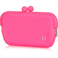 River Island Girls pink jelly sunglasses case