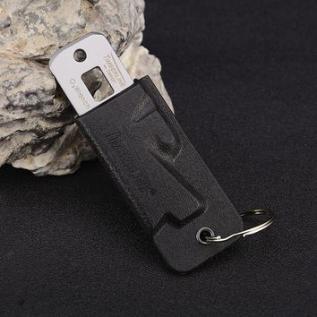 Portable Outdoor Sports 5 in 1 Multifunctional Mini Stealth Survival Tool Saber Card Survival Knife Camping Hunting