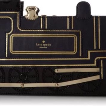 Kate Spade New York 'All Aboard' Leather Train Clutch