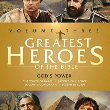 John Marley & William Daniels - Greatest Heroes of the Bible: Volume Three - God's Power: Tower of Babel / Jacob's Challenge / Sodom & Gomorrah / Joseph in Egypt