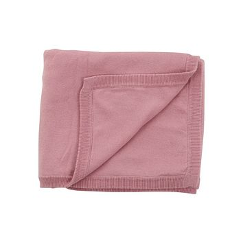 NWT Pink Cotton Cashmere Baby Blanket for Stroller Car Seat Floor Play