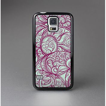 The Vector Purple Thin Laced Skin-Sert Case for the Samsung Galaxy S5