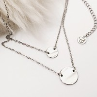The Duet Necklace by HeyClaire | Markkit.com