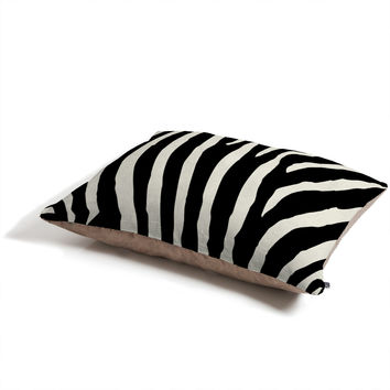 Natalie Baca Zebra Stripes Pet Bed