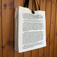 Pride and Prejudice Book Bag - Tote Bag