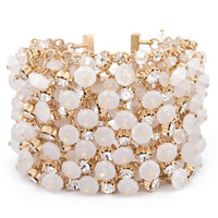Sasha Ivory Dancing Bracelet | SEND THE TREND