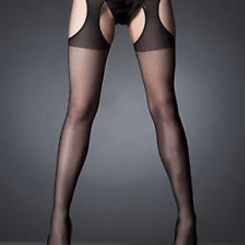 Crotchless Tights Ladies Sexy Stockings Underwear Lingerie Pantyhose Womens New