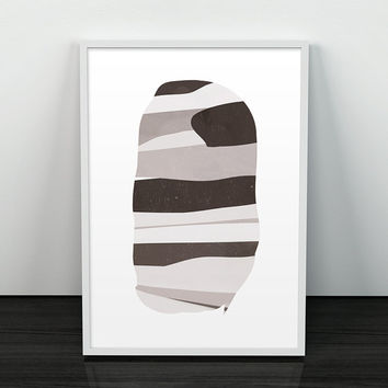 Geometric art, Abstract wall art, Abstract print, Retro poster, Mid century, Abstract geometric, Danish design, Home decor, Wall art, Poster