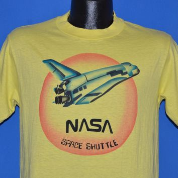 80s NASA Space Shuttle Airbrush t-shirt Medium
