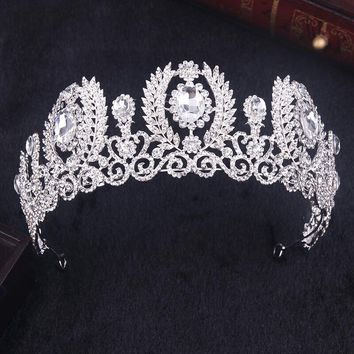 "NEW 2017 ""Krista"" Luxury Rhinestone Birthday Tiara"