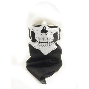 New Skeleton Skull Bandana Snowboard Skiing Motorcycle Biking Rave Mask Paintball