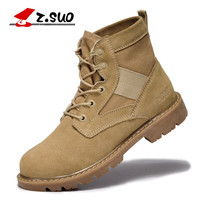 Luxury Leather Ankle Boots for Men