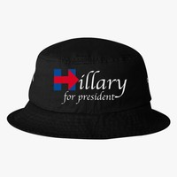 Hillary Clinton For President Bucket Hat