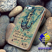 anchor i refuse to sink iPhone case,Samsung Galaxy case,iPod case,iPad case -- Hard Plastic and Rubber case -- BD