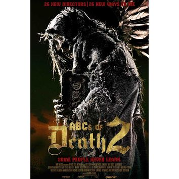 ABC's of Death 2 27x40 Movie Poster (2014)