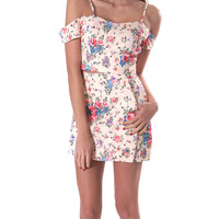 Heavenly Flowers Dress Set - Pink Print