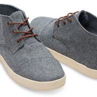 CASTLEROCK GREY WOOL MEN'S PASEO-MIDS
