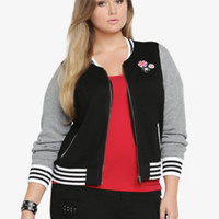 Varisty Sweater Bomber Jacket
