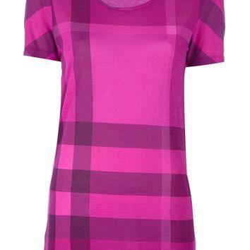 Burberry London Check Print T-Shirt