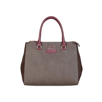 Blu Byblos Brown Leather Handbag