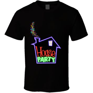 90s Movie Kid House Party Retro  T Shirt